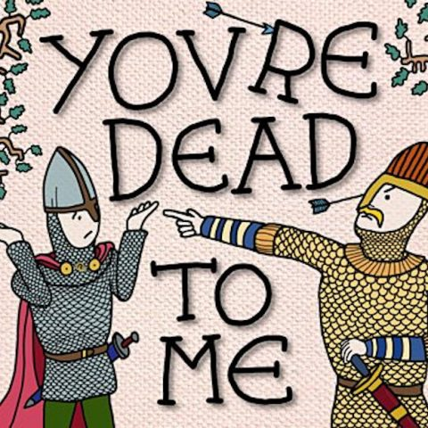 You are dead to me cover art