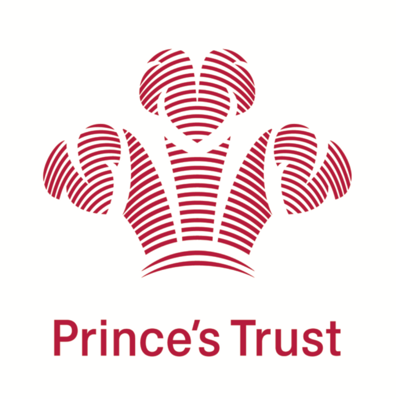 Text says Prince's Trust