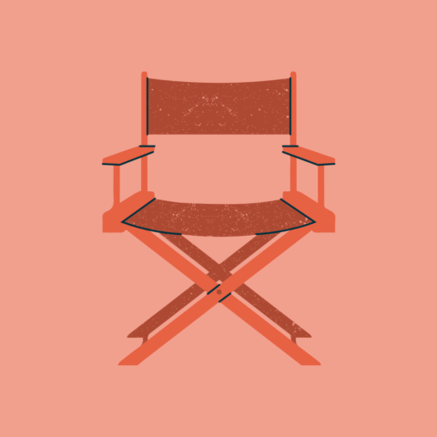 Graphic of a chair