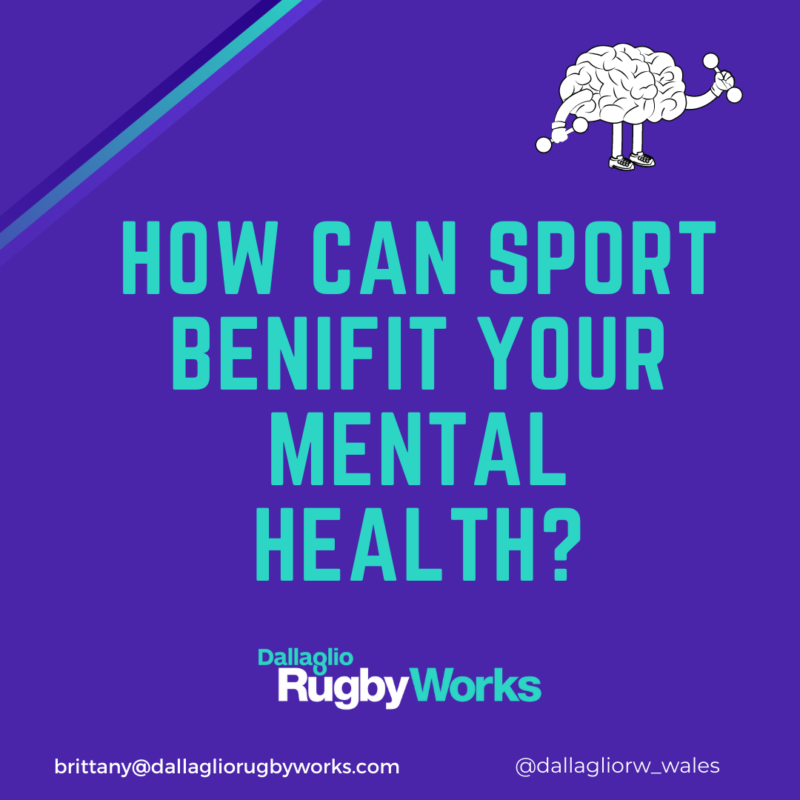 How can sport benefit your mental health?